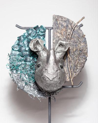 Creatief doe het zelf knutselpakket Rhino