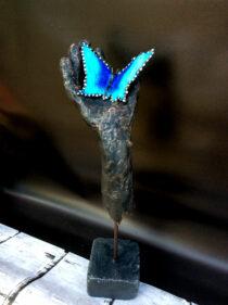 Pretex_knutselpakket-voor-volwassenen_In-de-Hand vlinder